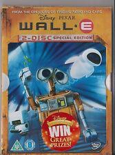 DISNEY PIXAR WALL - E DVD 2 DISC SPECIAL EDITION WALLE DISNEYS