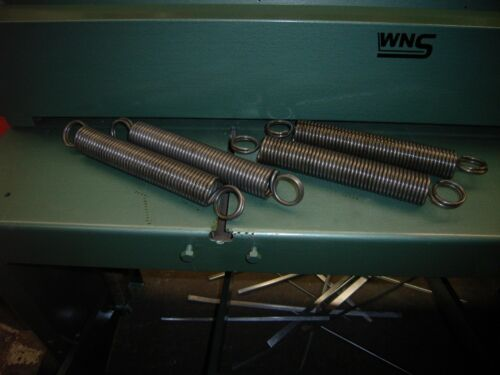 Edwards Foot Shear WNS Sheet Metal Treadle Guillotine Replacement Springs
