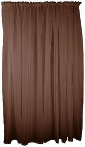 chocolat-marron-voile-TENTURE-RIDEAU-TRINGLE-Poche-150x183cm-150x183cm