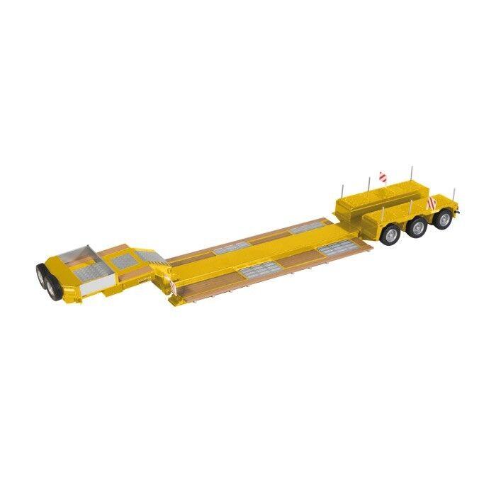 NZG 655 60 Nooteboom Pendulum-x 3-axle digger bed NEW OVP