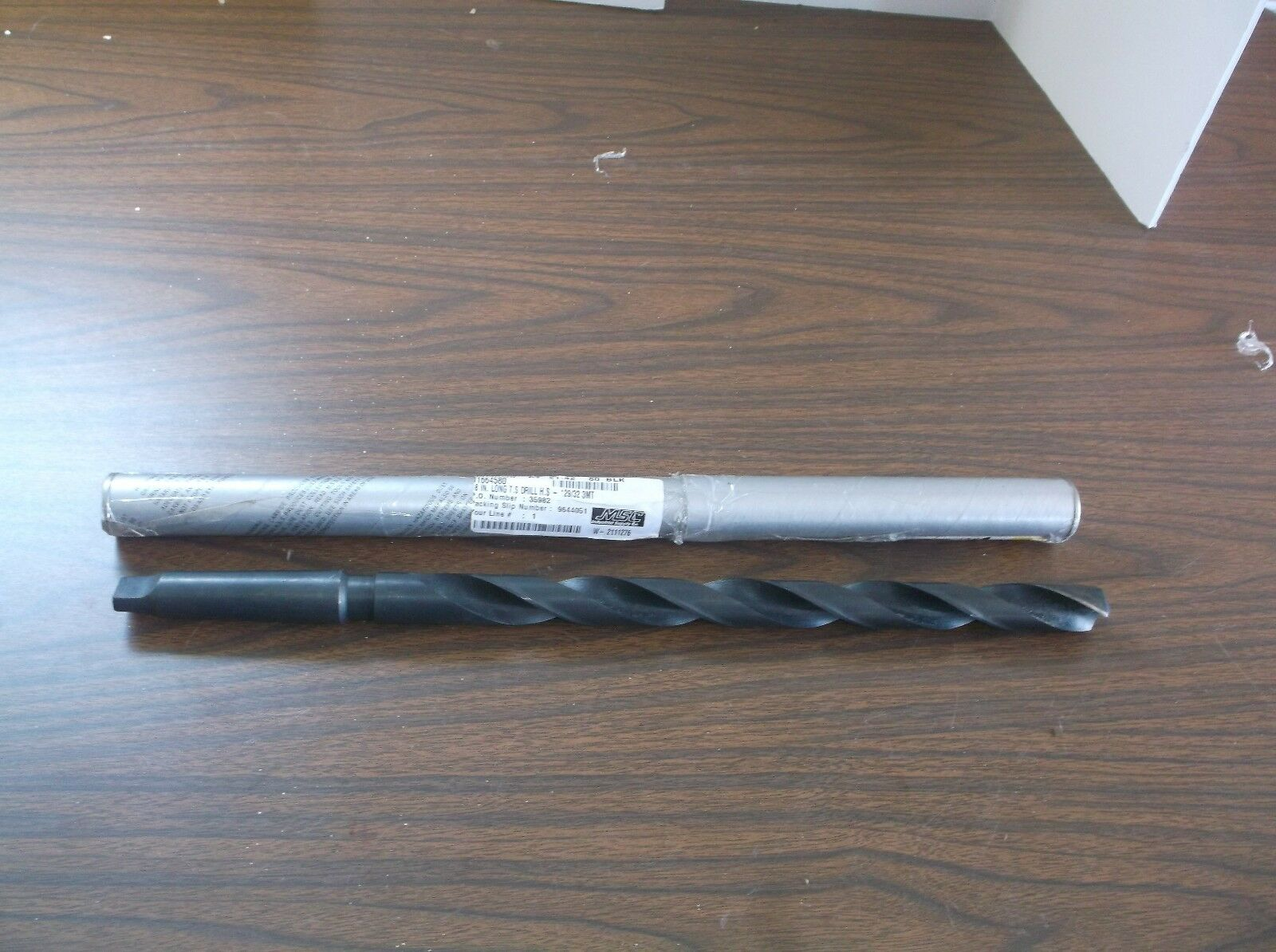 Interstate - 29 32 Inch, 3MT, High Speed Steel, 118 Degree Point Angle,(C10T)