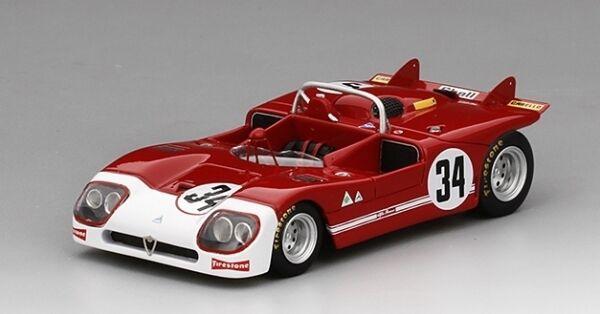 Alfa Romeo Tipo 33 3  34 Autodelta 12h Sebring 1971 1 43 Model
