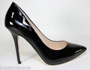Boutique 9 Sally Black Patent Leather Pointed Toe High Heeled ...