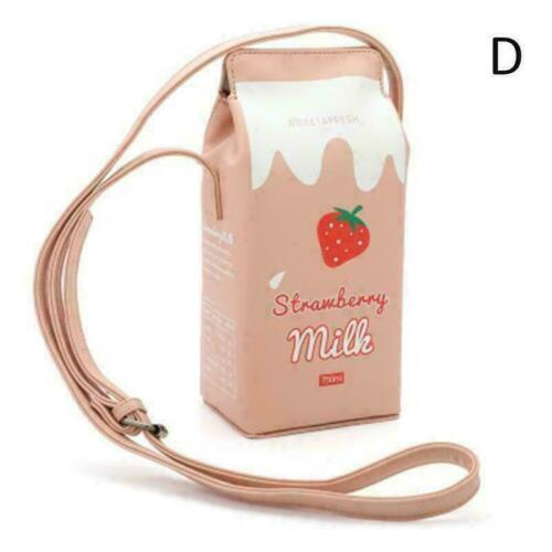 Milchflasche Small Bag Lady Schultertasche Messenger Satchel B7H0 B4X5