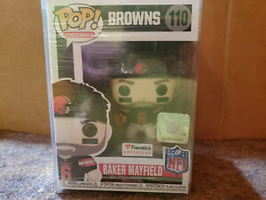 new product cd684 a5ce0 Details about Funko Pop! NFL Cleveland Browns Baker Mayfield Home Fanatics  Exclusive Damaged
