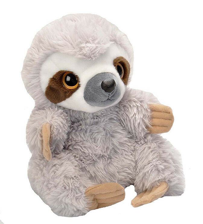 BNWT TOED - WILD REPUBLIC HAND PUPPET THREE TOED BNWT SLOTH BEAR SOFT TOY 25cm 10inch 669b2e