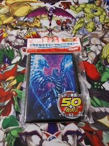 Yu-gi-oh-50-protege-carte-YuGiOh-sleeves-Dragon-noir-aux-yeux-rouges-red-eyes