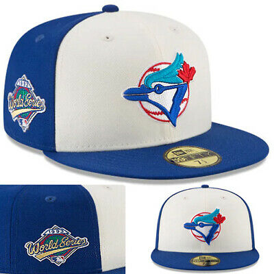release date purchase cheap closer at New Era Toronto Blue Jays Fitted Hat Cooperstown Classic 1993 ...