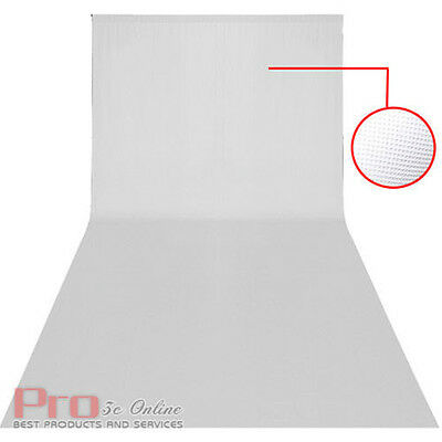 3.2m x 6m White Screen Background Photo Studio Backdrop Photography fit Stand UK