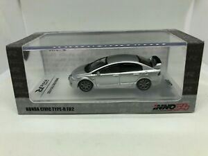 Inno-Models-1-64-Honda-Civic-Type-R-FD2-Argent