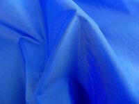 Waterproof 4oz NYLON Fabric Material PU Coated - ROYAL