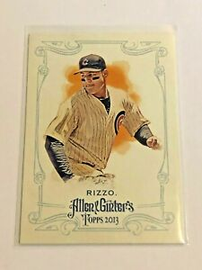 2013-Topps-Allen-amp-Ginter-Baseball-Base-Card-Anthony-Rizzo-Chicago-Cubs
