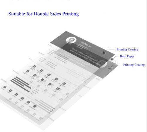 A4 Double Sides Matt Ink Photo Paper Laser Paper 100 Sheets 140-260Gsm Uinkit
