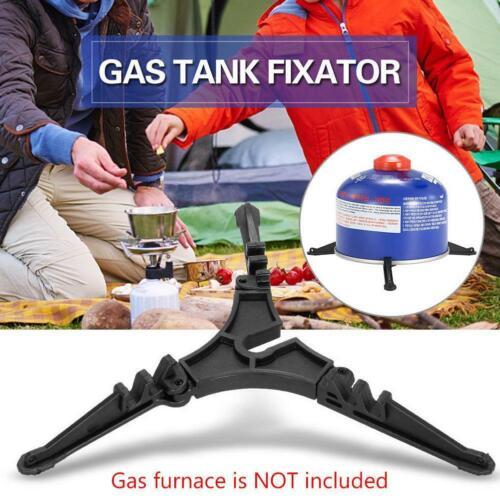 Folding Gas Tank Base Fixed Bracket Rack Universal Camping Gas Tank Frame Stable
