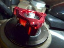 FORK PRE LOAD ADJUSTERS 17MM RED YAMAHA FZS600 Fazer MT01 TDM850 TRX850 R1B9