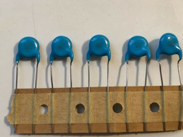 20PCS 3KV 1000PF 102P Ceramic Disc Capacitors 3KV102P