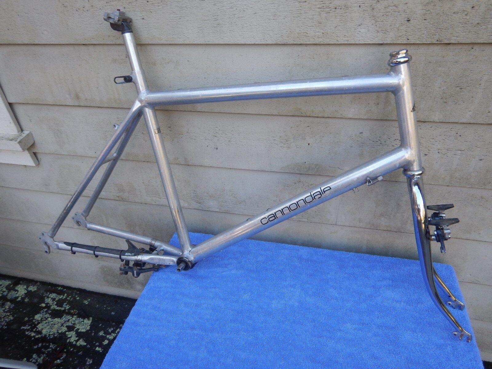 20  Vintage Cannondale SM500 Mountain Bike Frameset 26  24  Moots Extras XL