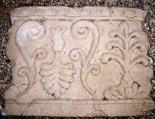 """Roman decor mold concrete plaster abs plastic mould 15/"""" x 11/"""" x 1/"""" thick"""