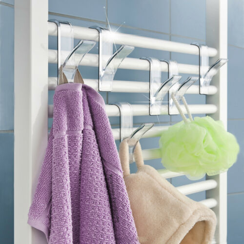 Rundheizkörper Haken 6 tlg Handtuchhaken Handtuchhalter T