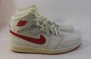 51265186684 Nike Air Jordan 1 Retro Ko Hi White Red 2010 Bred 402297-161 Size 11 ...