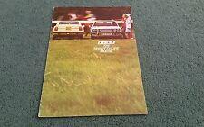 June 1974 FIAT 128 SPORT COUPE 1300 SL - UK BROCHURE