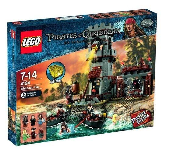 Lego 4194 Weißcap Bay 2 Mermaids Mermaids Mermaids   Sealed Box  Zombie Scrum Syrena 086d46