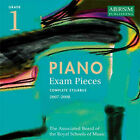 Piano Exam Pieces: 2007-2008: Grade 1 by Associated Board of the Royal Schools of Music (CD-Audio, 2006)