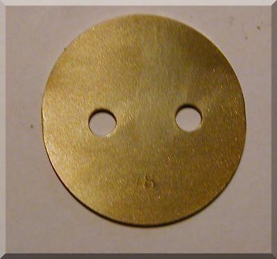 WEBER 48 DCOE  THROTTLE PLATE-78°