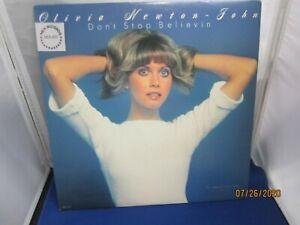 Olivia-Newton-John-Don-039-t-Stop-Believin-12-034-Vinyl-LP-amp-Jacket-Exc-Cond-Fast-Ship