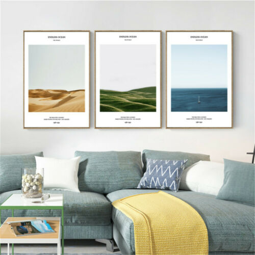 Oasis Desert Quote Print Canvas Poster Wall Hangings Art Modern Home Decoration