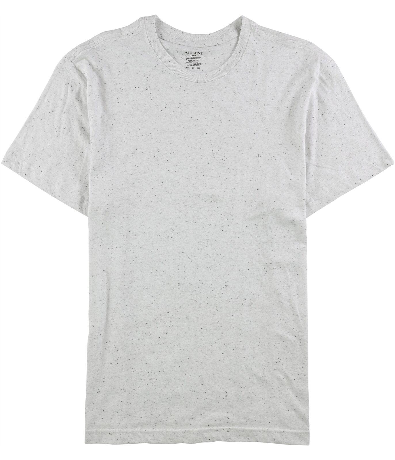 Alfani Mens Speckled Basic T-Shirt
