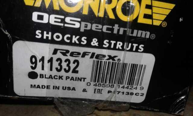 Monroe 911332 Reflex Truck Shock Absorber Monroe Shocks /& Struts