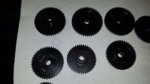 Sagacustomrc 1-8mm Pinion Gears 44t mod 1