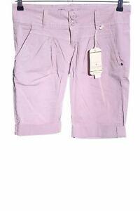 FRESH-MADE-Bermuda-rosa-stile-casual-Donna-Taglia-IT-42-Pantalone