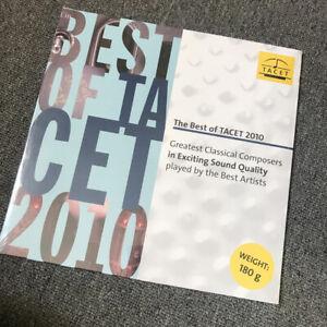 Tacet-Best-Of-2010-180-Gram-L982-Auryn-Freden-Schirmer-Winger-Hartmann-Sealed-LP