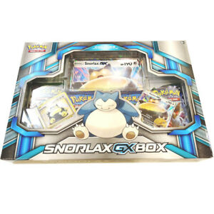 Pokemon-TCG-Snorlax-GX-Box-Premium-Collection-with-4-Booster-Packs