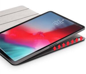 Apple-iPad-Pro-11-2018-Huelle-Kunstleder-Magnetisch-Smart-Cover-Slim-Case-Schwarz