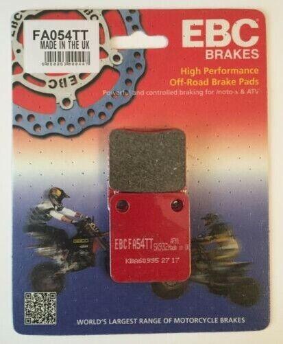 "EBC ""TT"" REAR Disc Brake Pads (1 Set) Fits KAWASAKI KLX140 (2008 to 2020)"