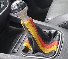 Italian Leather Shift Boot Gaiter German Flag For Vw Golf Jetta Gti Gli R32 Mk5 Fits Jetta