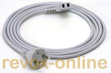 Studer Revox PR99 Netzkabel, 2-polig, grau, 2,50m / power cord / cable, Neuware