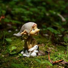Miniature Dollhouse FAIRY GARDEN Garden Pixie With Bunny