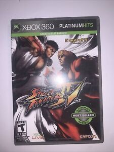 Street Fighter IV 4 (Microsoft Xbox 360, 2009)