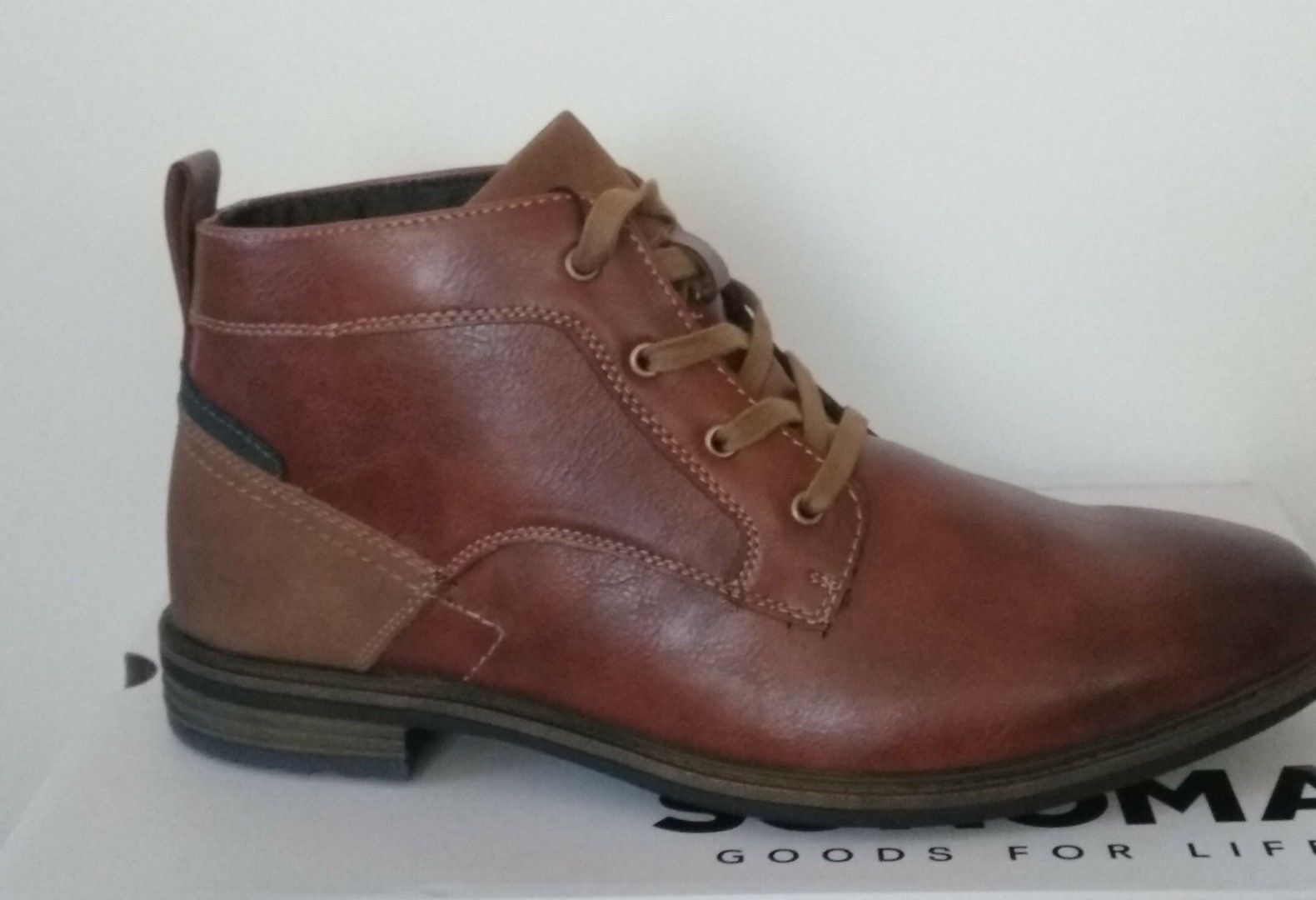 Sonoma Goods For Life Eason Men's Ankle Boots Size  8 - New