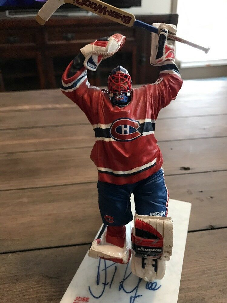 Signed Jose Theodore Mcfarlane  NHL  Series 10 Figure Autographed Autographed Figure f76825