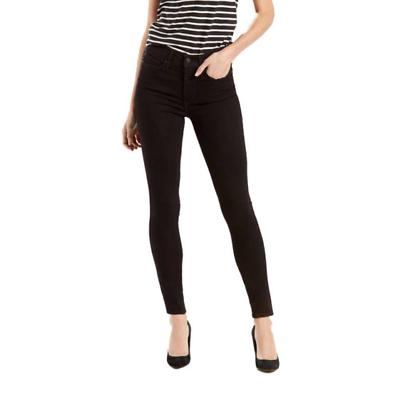 Levis Adelgazante Skinny Jeans para Mujer en Negro y Azul Denim (283990001) (28399000305 | eBay