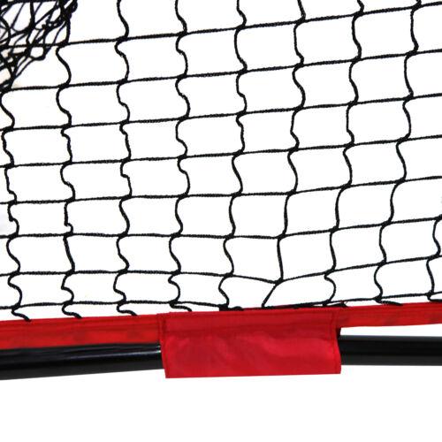 7/'×7/' Baseball Softball Practice Net Batting Tee w//Bag Bow Frame Pro-Style