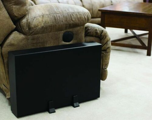 """NEW 10/"""" Powered Under Seat Subwoofer Speaker.Shallow Floor Mount Bass Sub.Home"""