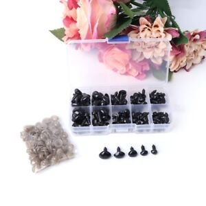 1Box-100pcs-5size-Plastic-Safety-Nose-Triangle-For-Doll-Animal-Puppet-Making