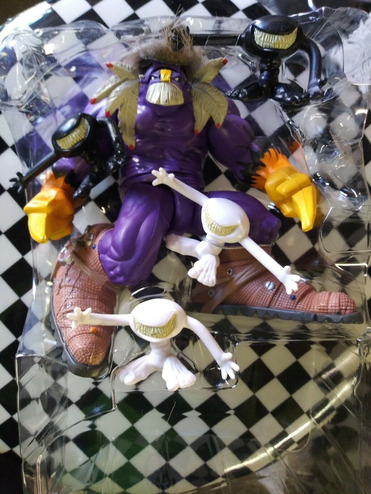 1996 McFarlane Spawn The Maxx Ultra Action Figure Just Open Figure  on eBay thumbnail