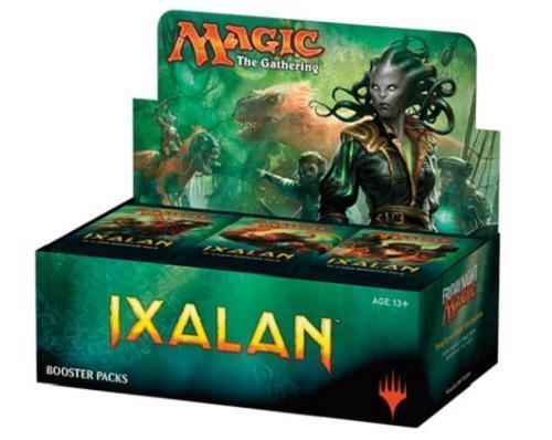 Magic mtg ixalan booster box fabrik versiegelt kartenspiel